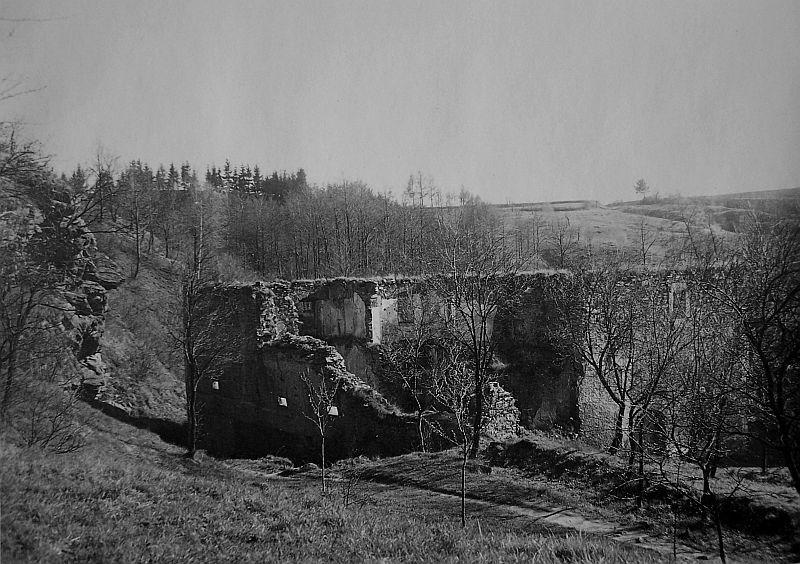 MLÝN CIMBURK – RUINY, ROK 1940